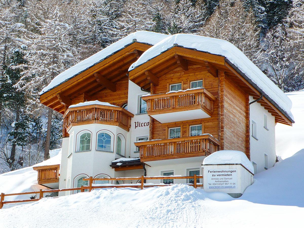 Haus Piccolo 5 Sterne Ferienwohnung in Saas Grund
